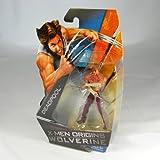 X-Men Origins Wolverine Movie Series 3 3/4 Inch Action Figure Deadpool (No Shirt with Tatoos)