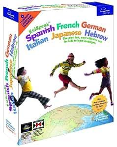 KidSpeak 6-in-1 World Pack: Spanish, French, German, Italian, Japanese, Hebrew [Old Version]