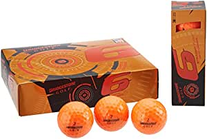 Bridgestone Golf 2015 e6 Golf Balls, Orange , Pack of 12