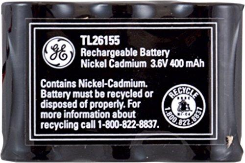 GE Cordless Phone NiCad 3.6V 400mAh Battery