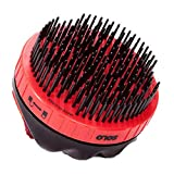 Solo Brush Solo Groom Easy to Use Humane Mane & Tail Grooming Tool Retractable Bristle Grooming Tool