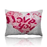Best LEGO Friends Forever Legos - Anyangeight I Love You Throw Pillowcase Paintbrush Valentines Review