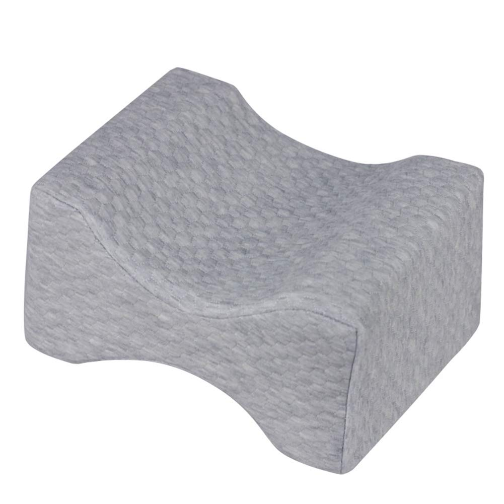 Back Pain,Leg Pain,Pregnancy,Hip and Joint Pain,Between-The-Legs Pregnancy Sleep Contour Wedge Mokylor Memory Foam Knee Pillow with Breathable Zippered Cover for Sciatica Relief