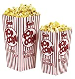 Great Western Popcorn Scoop Boxes 1 Ounce 500/BX #11086