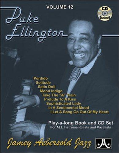 Jamey Aebersold Cd (Vol. 12, Music Of Duke Ellington (Book & CD Set))