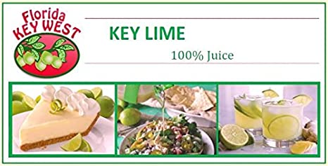 Florida Key West 100% Jugo de Limón Key Authentic 16 Oz: Amazon.es: Alimentación y bebidas