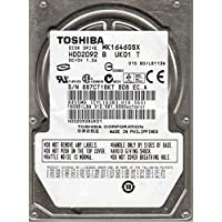 MK1646GSX, HDD2D92 B UK01 T, Toshiba 160GB SATA 2.5 Hard Drive