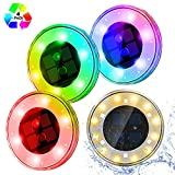 Best Floating Pool Lights - Solar Lights Outdoor Garden, [Upgrade RGB Version] ESEYE Review