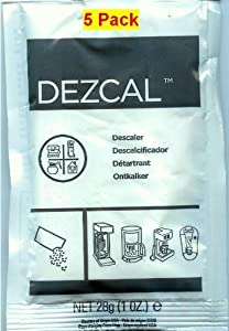 Urnex Dezcal 28g (1 oz.), 5 Pack from Urnex