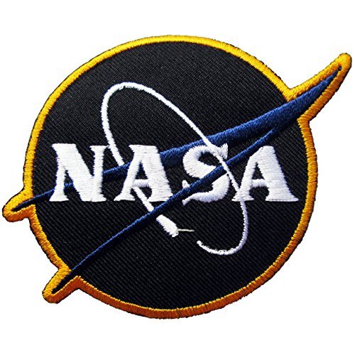 NASA Logos Iron Patches Black product image