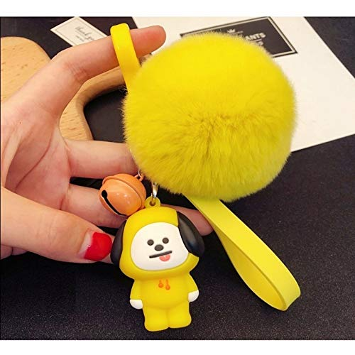 PAPRING Chimmy Keychain 2.2 inch Small Plush Toy Tiny Collectable Christmas Halloween Birthday Gift Cute Accessories Collectibles New Doll Animal Decoration Collection Collectible for Kids Adults