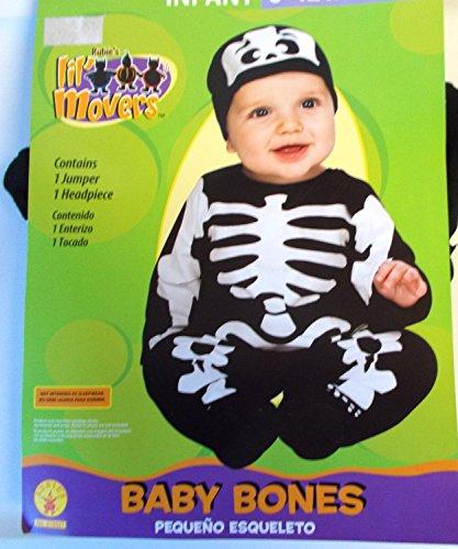 Bones Jumpsuit Infant Costume Headpiece