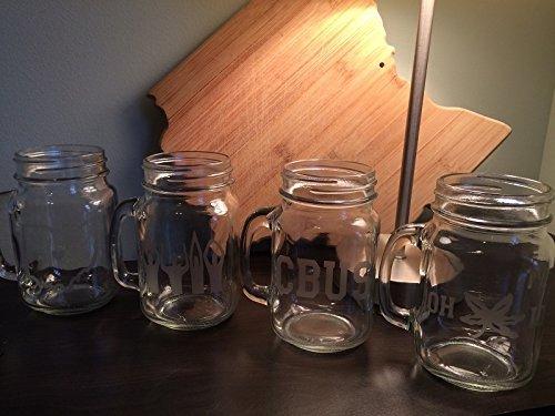 columbus-glasses-columbus-oh-four-16oz-mason-jar-etched-glasses-columbus-buckeyes-columbus-gift-ohio
