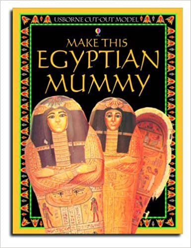 Egyptian Mummy (Cut Outs) (Usborne Cut Outs)