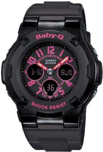 Casio Baby-G STREET NEON Ladies Watch BGA-117-1B1JF (Japan Import)