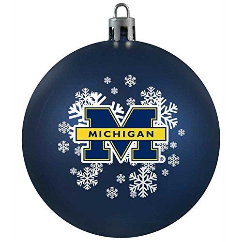 NCAA Michigan Wolverines Shatterproof Ball Ornament