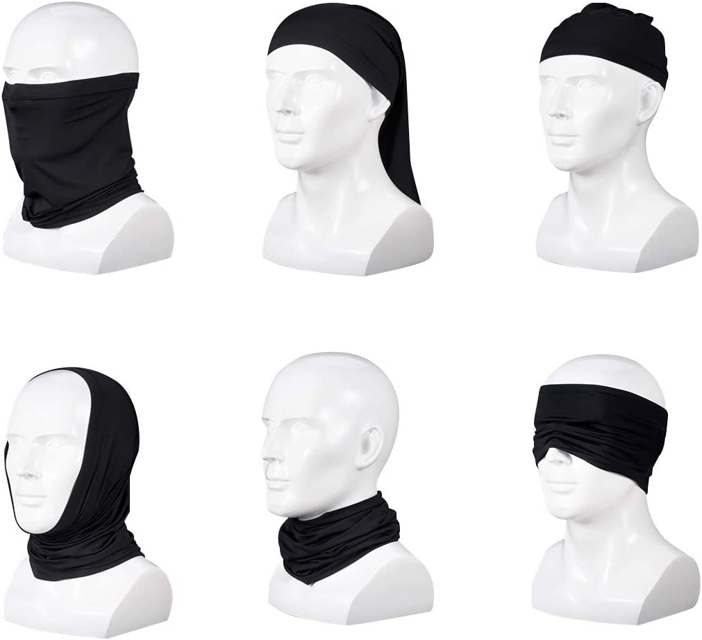 AGN Reach Star Festival Rave Neck Gaiter Women Tactical Masks Dustproof Magic Lightweight Balaclava For EDC Outdoor Exercise
