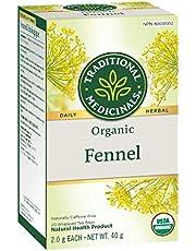 Traditional Medicinals Organic Fennel, 20 Tea Bags, 40g