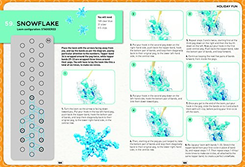 Loom Band It: 60 Rubberband Projects for the Budding Loomineer by Barron's Educational Series (Image #7)