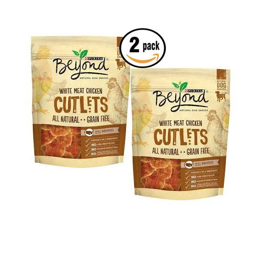 2pack Purina Beyond Chicken Cutlets 9oz ea All natural white meat!