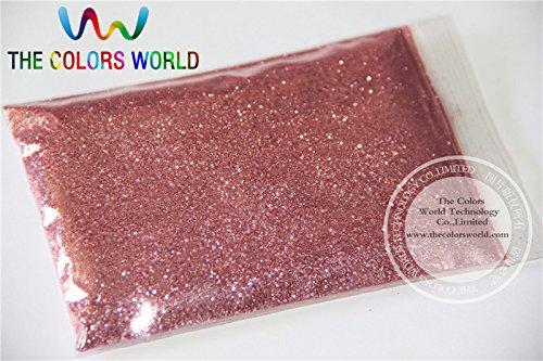 Kamas TCM0900 Dark pink Color Glitter powder -0.2MM glitter dust dazzling glitter powder,DIY Flash powder - (Color: 200g)
