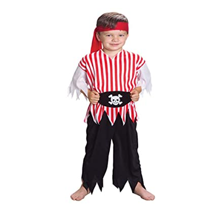 US Toy Kids Pirate Costume  sc 1 st  Amazon.com : pirate costume toddler  - Germanpascual.Com