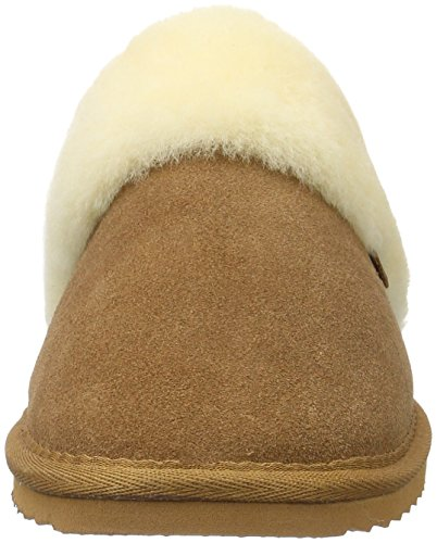 Flurry Cognac Slippers Women's Warmbat Braun 81d80