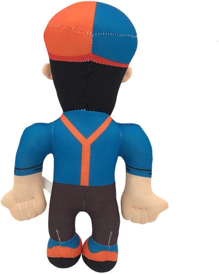 YUYON 28cm Blippi Hat Plush Doll Soft Stuffed Toy For Baby Gift Blippi Toy,Blue