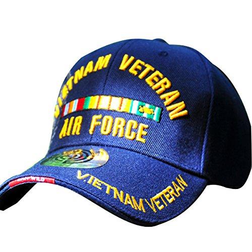 The Air Force Vietnam Veteran Men Women Embroidered Baseball Hat Bill Cap Trucker Hat