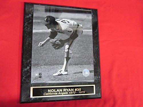 Angels Nolan Ryan Collector Plaque w/8x10 Action Photo