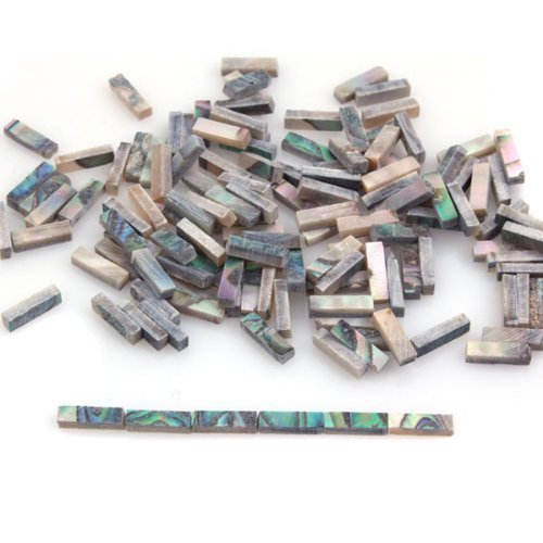 DN 1 Set Of 60pcs Natural Abalone Inlays Guitar Binding Body Project Total Length 42cm DN10100731