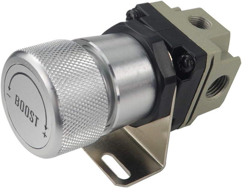 OUYAWEI General Adjustable Manual Gauge Turbo Boost Controller 1-150 psi SR20DET red