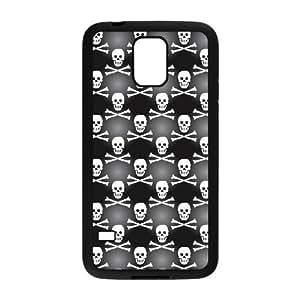 Samsung Galaxy S5 Black phone case Halloween Skull The best gift DVE7620561