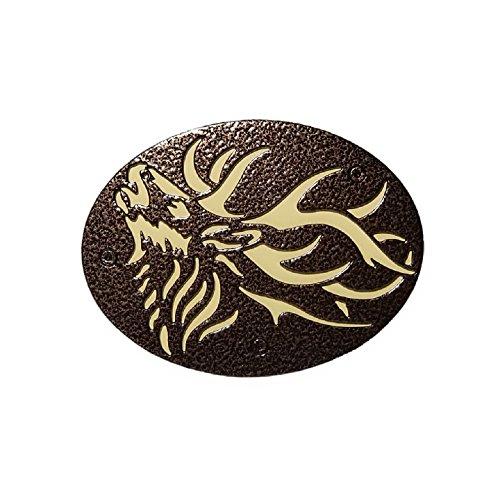 Bugling Elk Custom Hitch Cover
