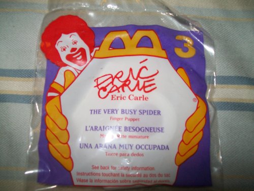 Mcdonalds Eric Carle ( the Very Busy Spider ) Finger Puppets