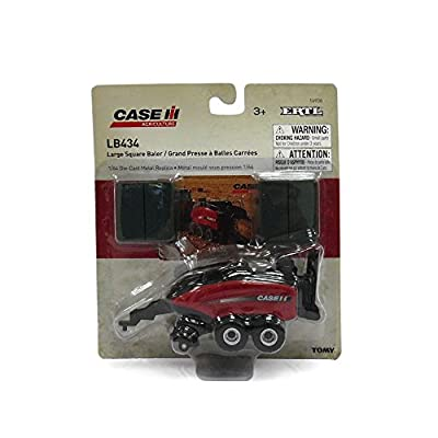 Ertl Case IH Big Square Baler Vehicle (1:64 Scale): Toys & Games