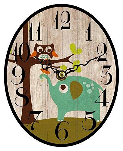 Pequeño Homestreet Relojes de pie de madera en varios diseños con estilo