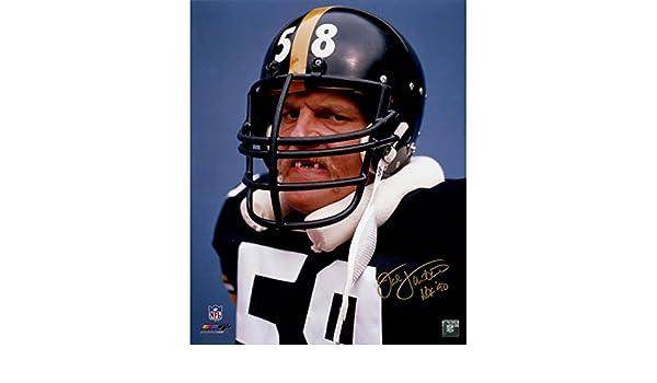 303031c5b Jack Lambert Pittsburgh Steelers  Teeth  16x20 Photo w
