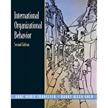 International Organizational Behavior, Second Edition by Anne Marie Francesco (2004-02-01)