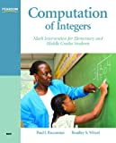 Computation of Integers: Math Intervention for Elementary and Middle Grades Students