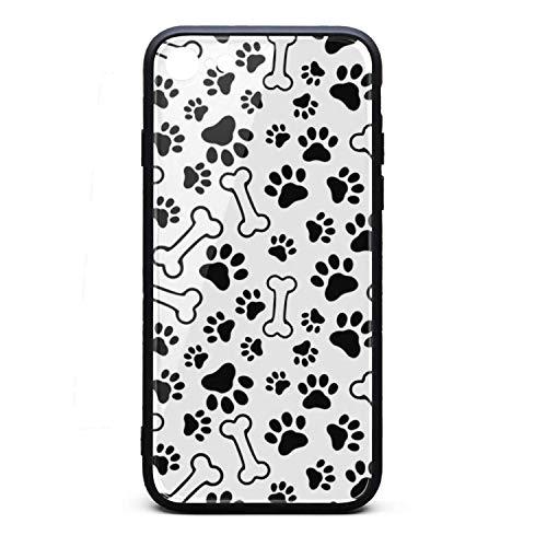 - Pet paw Print and Bone Cute iPhone 6 Case,iPhone 6s Case Shock-Absorption Flexible Soft Rubber TPU Bumper/Anti-Finger/Anti-Scratch/Phone Case for iPhone 6 Plus Case/iPhone 6s Plus Case