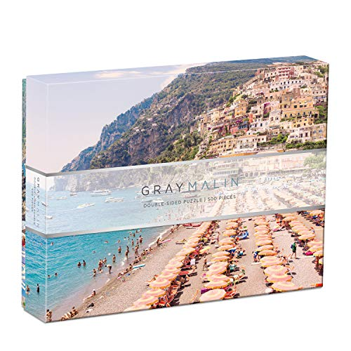 Galison Gray Malin Italy Two-Sided Puzzle, 500 Pieces, 24