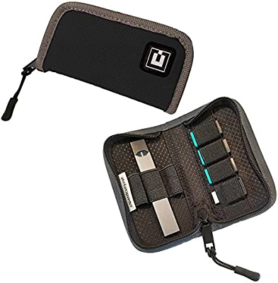 Device Not Included Pods /& USB Charger Carrying Case Cover Holder Wallet for JUUL Fits Most Popular Vapes