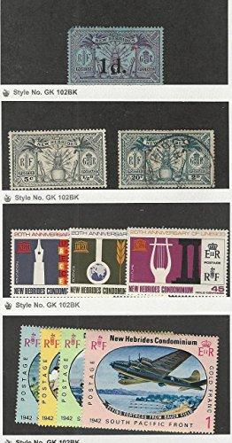 New Hebrides - British, Postage Stamp, 28, 41, 120-2, 123-6 Mint, 43 Used