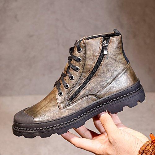 Casual Europa in Cammello HL Scarpe 39 Scarpe Martin alte Match stivali All PYL Uomo scarpe uomini scarpe 6v61fp