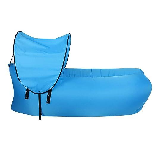 longrep Sofa Hinchable Camping Tumbona Hinchable De Playa ...