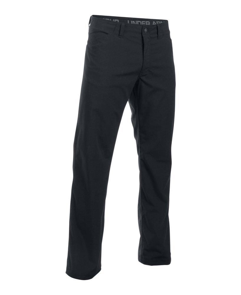 Under Armour Men's Storm Covert Tactical Pants, Black /Granite, 30/32 by Under Armour (Image #4)