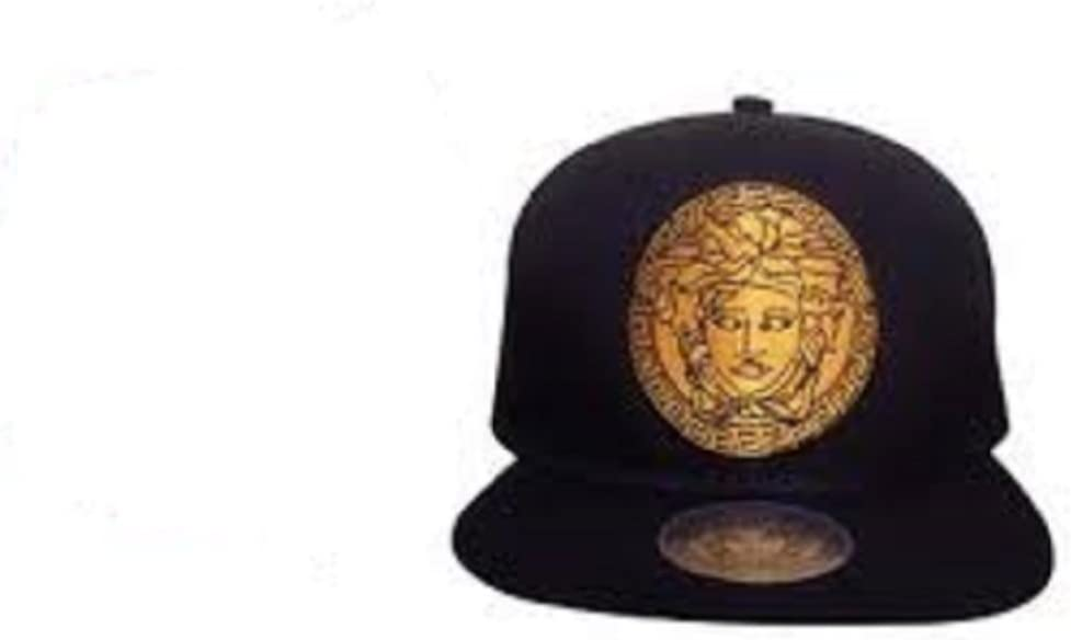 VERSACE MEN Ball Caps sombreros del snapback ajustable (NEGRO ...