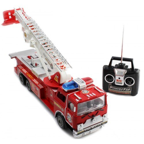 Big Size Remote Control RC Fire Truck Full Functions Good Qu