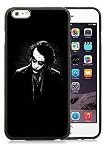 CMS Unique and Attractive iPhone 6 plus 5.5 inch TPU Cases Design with The Joker Batman Black White in Black
